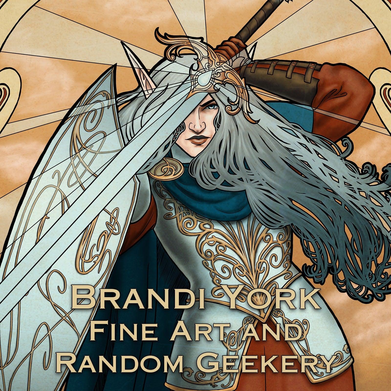 Brandi York Fine Art and Random Geekery