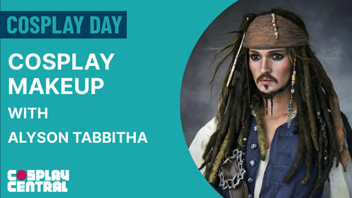 Image for Cosplay Makeup with Alyson Tabbitha - Cosplay Day 2021