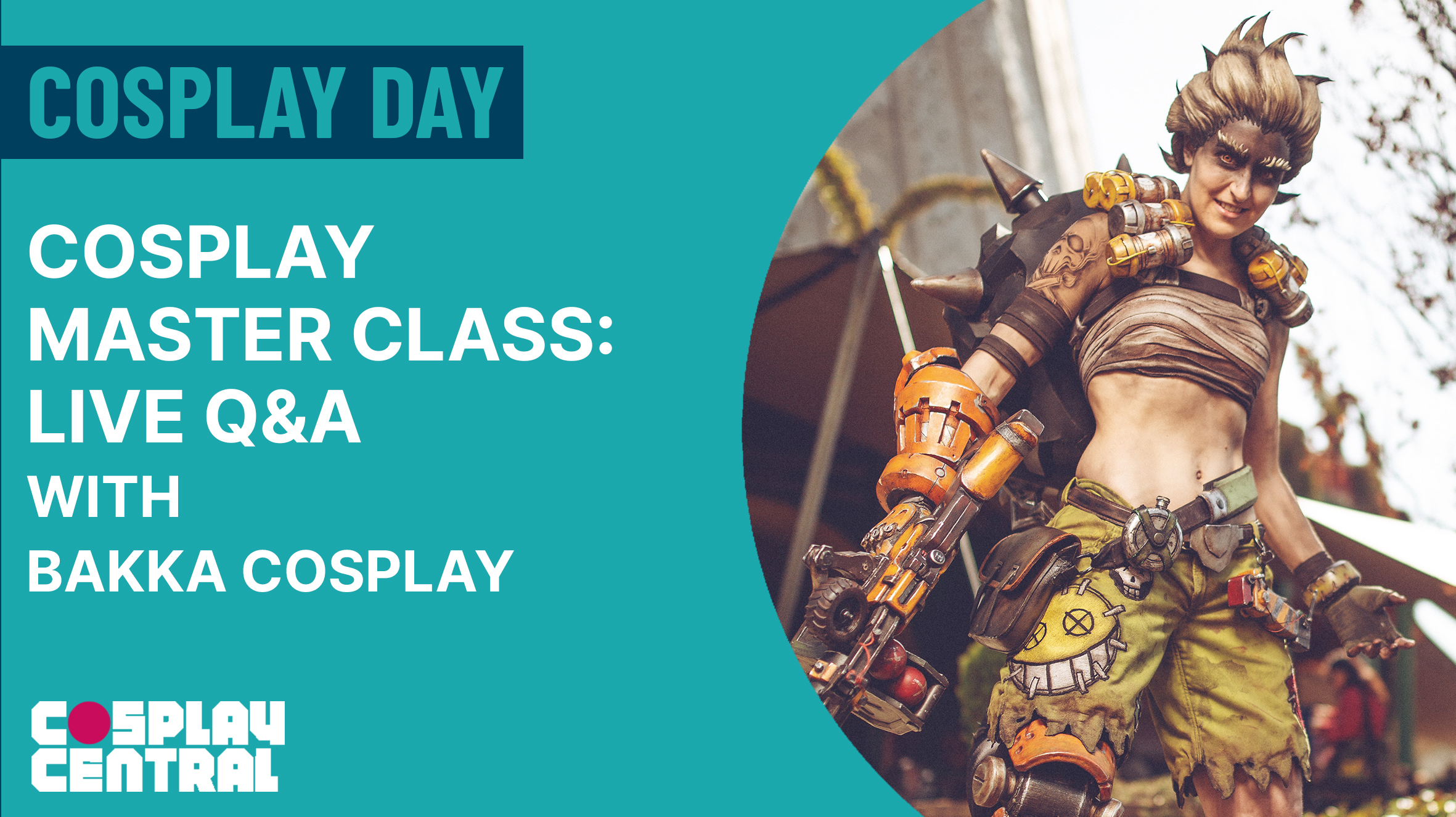 Image for Cosplay Master Class | The Art of Cosplay Wig Making - Live Q&A with Bakka Cosplay - Cosplay Day 2021