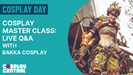 Image for Cosplay Master Class   The Art of Cosplay Wig Making - Live Q&A with Bakka Cosplay - Cosplay Day 2021