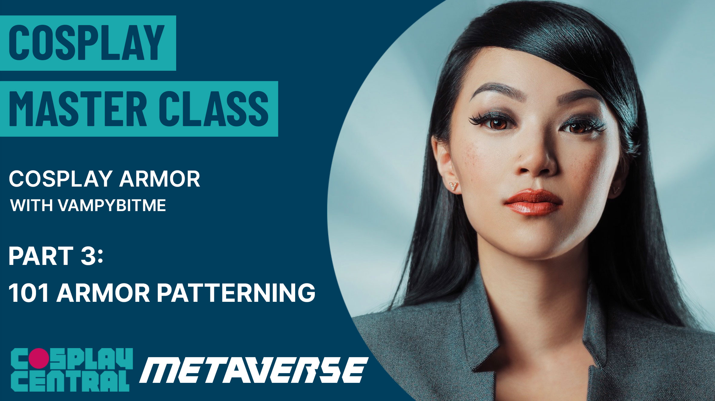 Image for Cosplay Master Class | Armor with VampyBitMe - Part 3 101 Armor Patterning