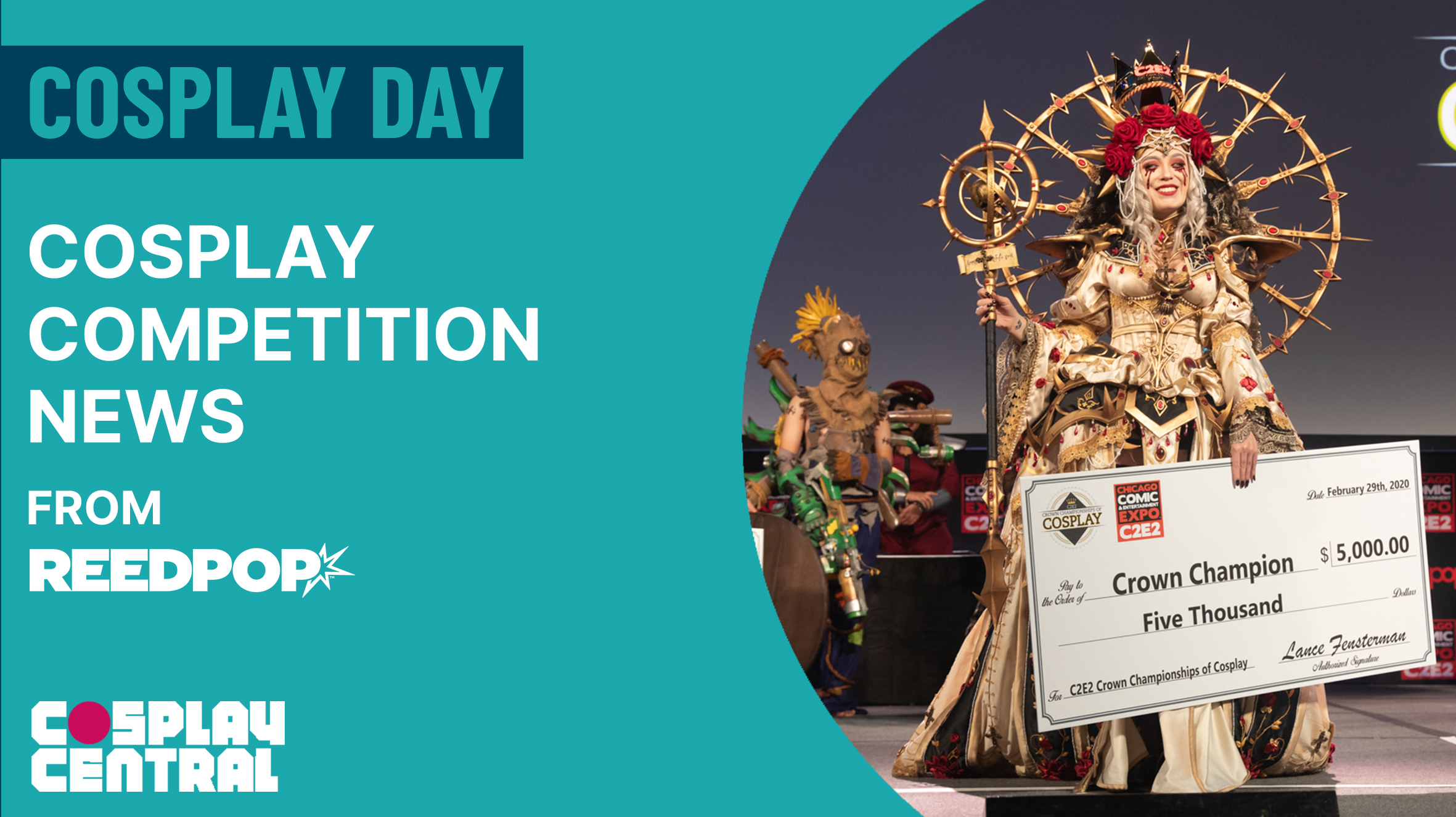 Image for Cosplay Competition News from ReedPop - Cosplay Day 2021