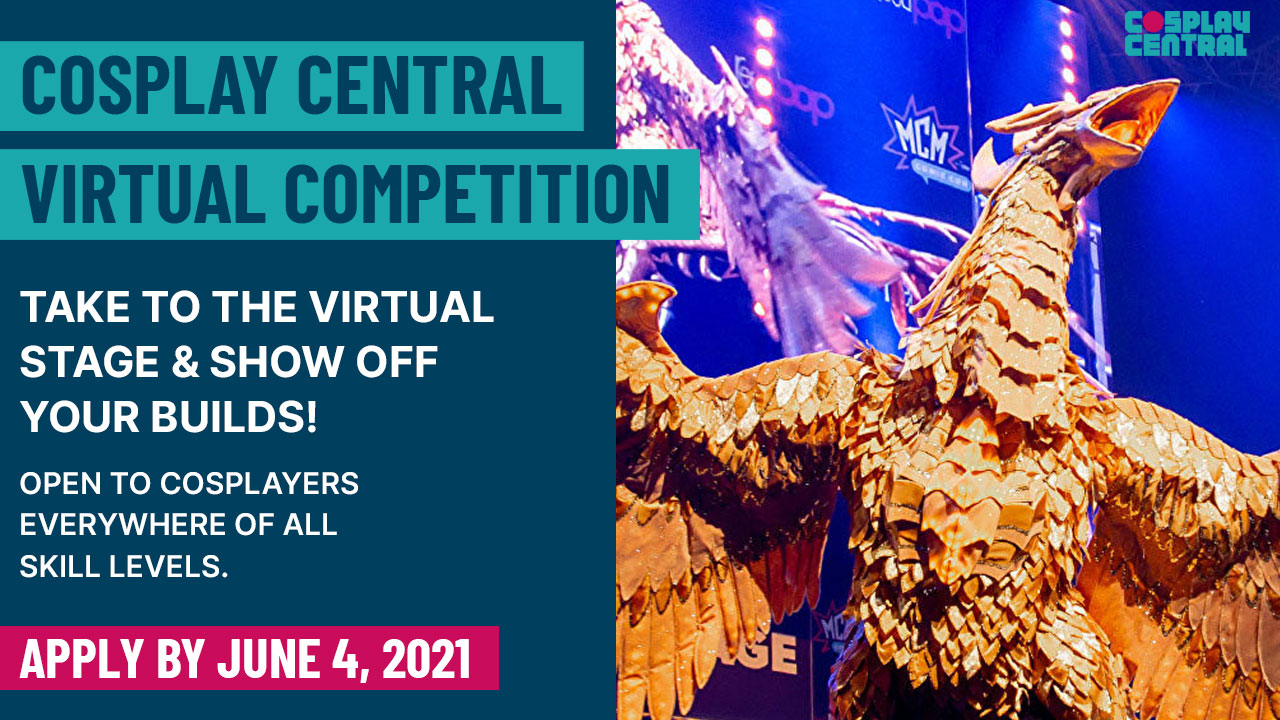 Image for Cosplay Day and Cosplay Central's Virtual Competition 2021