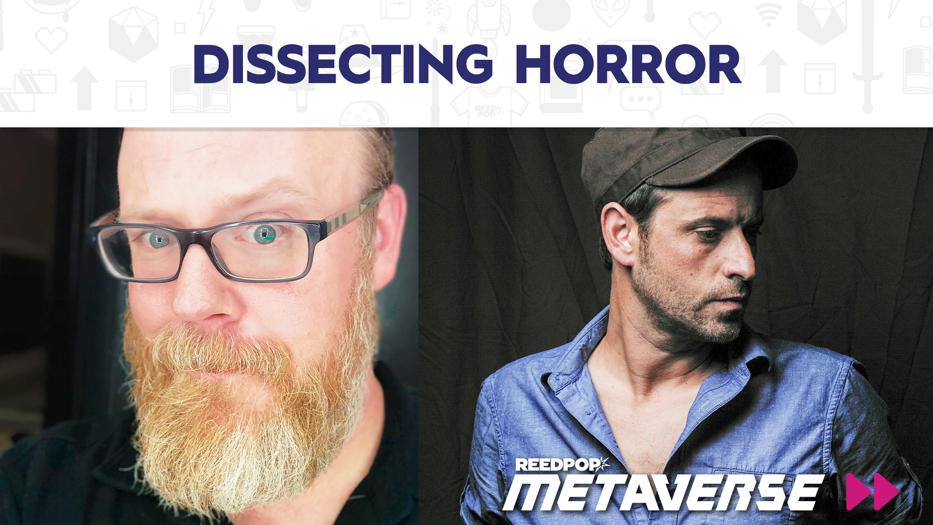 Image for Dissecting Horror with Josh Malerman and Chuck Wendig