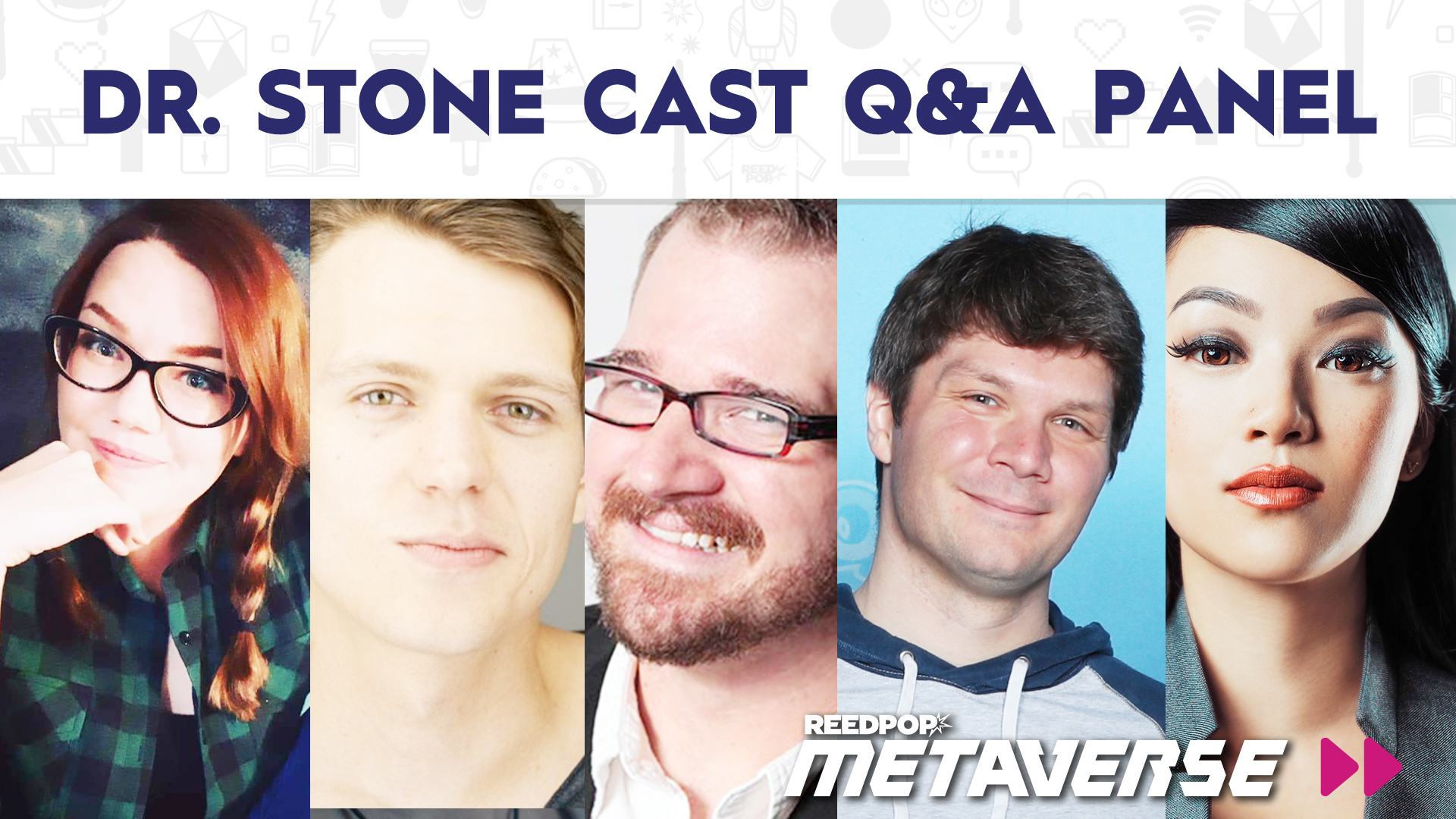 Image for Dr. Stone Cast Q&A Panel