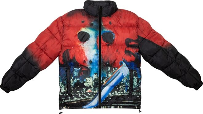 Friday the 13th Puffer Jacket