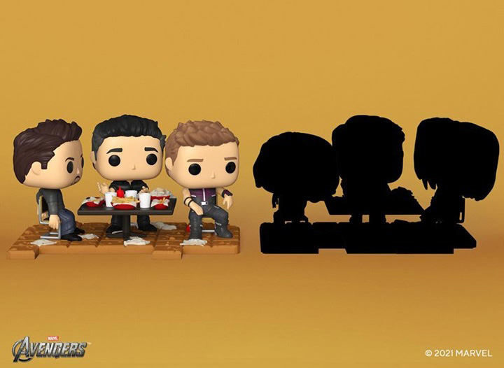 Recreate the Avengers Shawarma Scene with Exclusive Funko Pops
