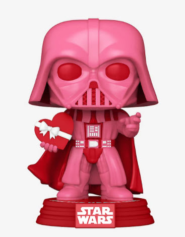 Funko Pop! Star Wars Darth Vader (Valentine's Day) Vinyl Bobble Head