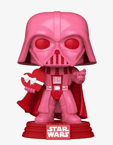 Funko Pop! Star Wars Darth Vader (Valentine's Day) Vinyl Bobble Head