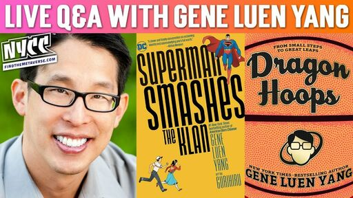 Image for Gene Luen Yang Q&A, Signed Bookplates for Dragon Hoops & Superman Smashes the Klan