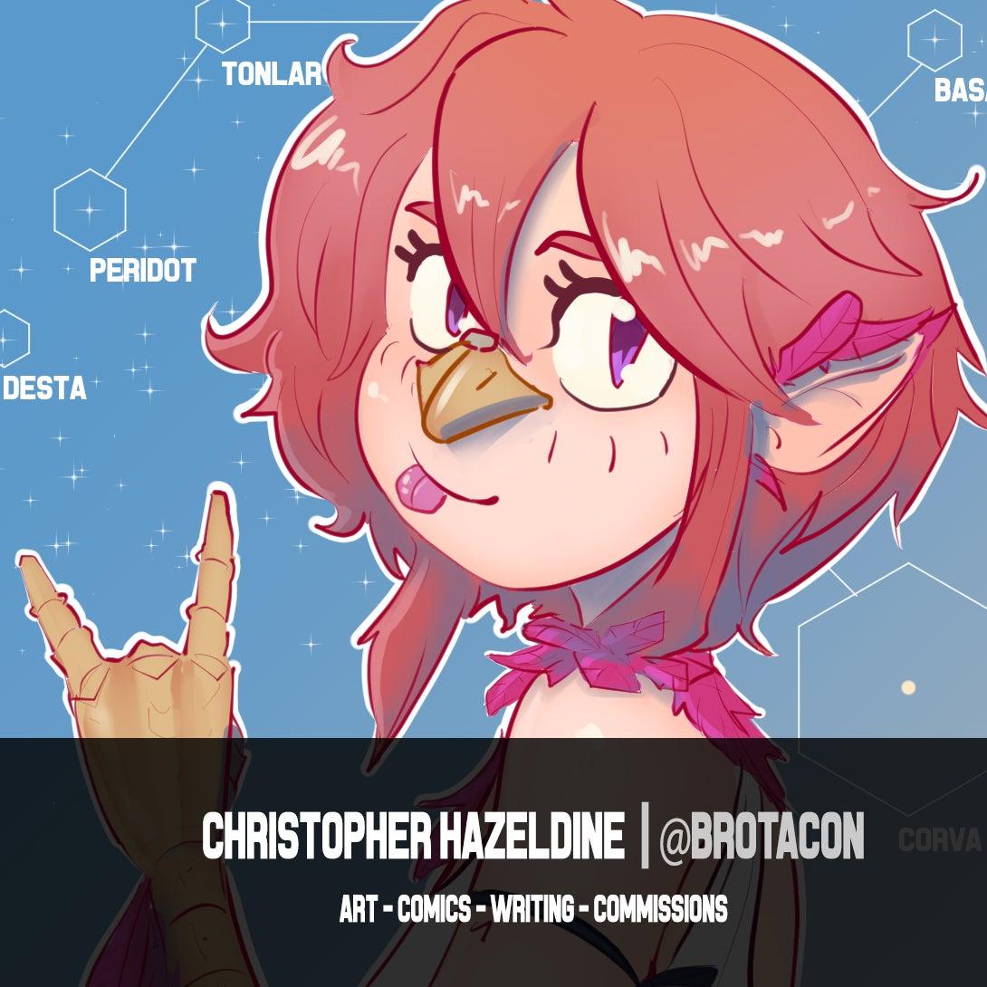 Christopher Hazeldine / Brotacon