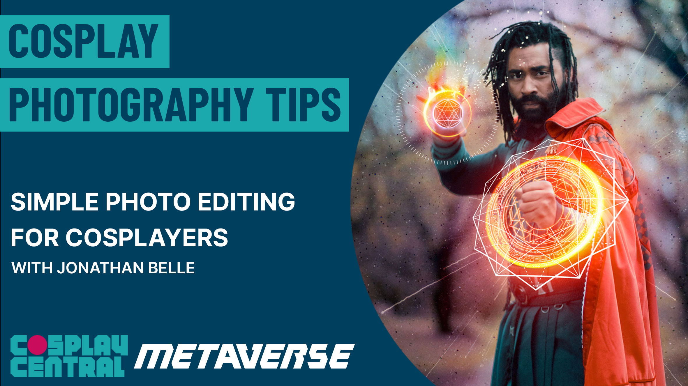 Image for Photography Tips: Simple Photo Editing For Cosplayers