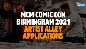 Image for Be a Part of MCM Comic Con Birmingham's 2021 Artist Alley