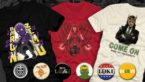 Image for New Exclusive Metaverse Merch (Loki, WandaVision, Falcon & Winter Soldier, and more!)