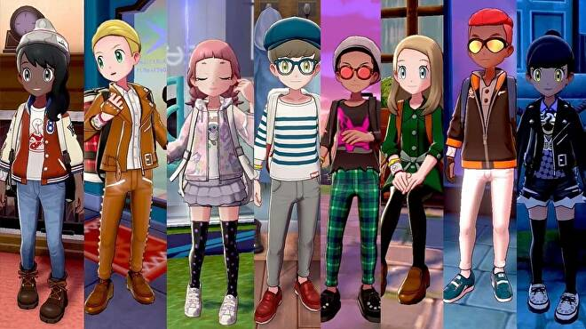 Pokemon Sword and Shield Character Customization Guide