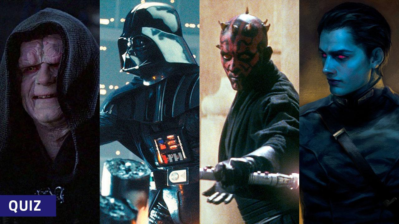 [Quiz] Which Star Wars Villain Are You?