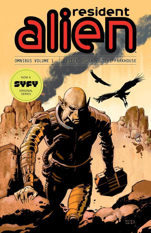 Resident Alien Comic Books Omnibus