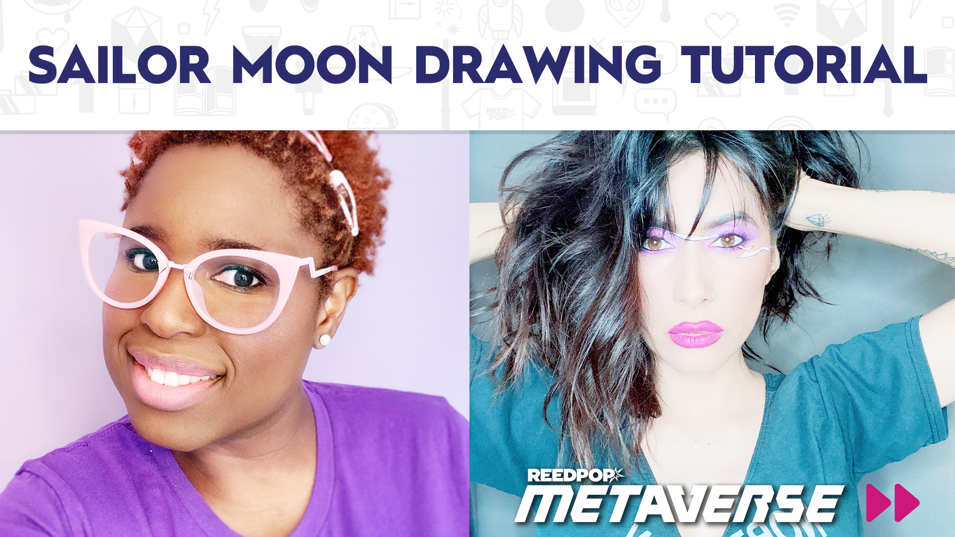 Image for Sailor Moon Drawing Tutorial