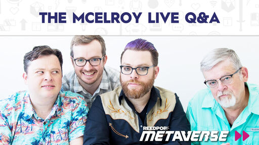 Image for The McElroy Live Q&A - June 11 at 6 PM PST / 9 PM EST / 2 AM BST