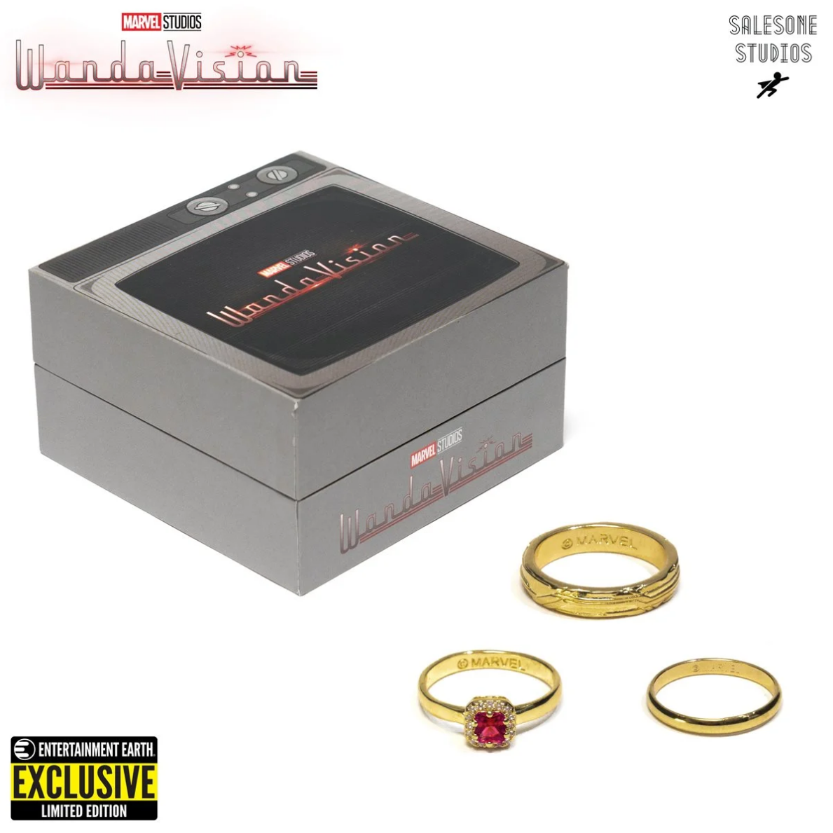 WandaVision Replica Wedding Rings