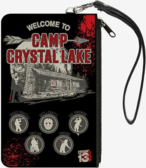 Welcome To Camp Crystal Lake Wallet Clutch
