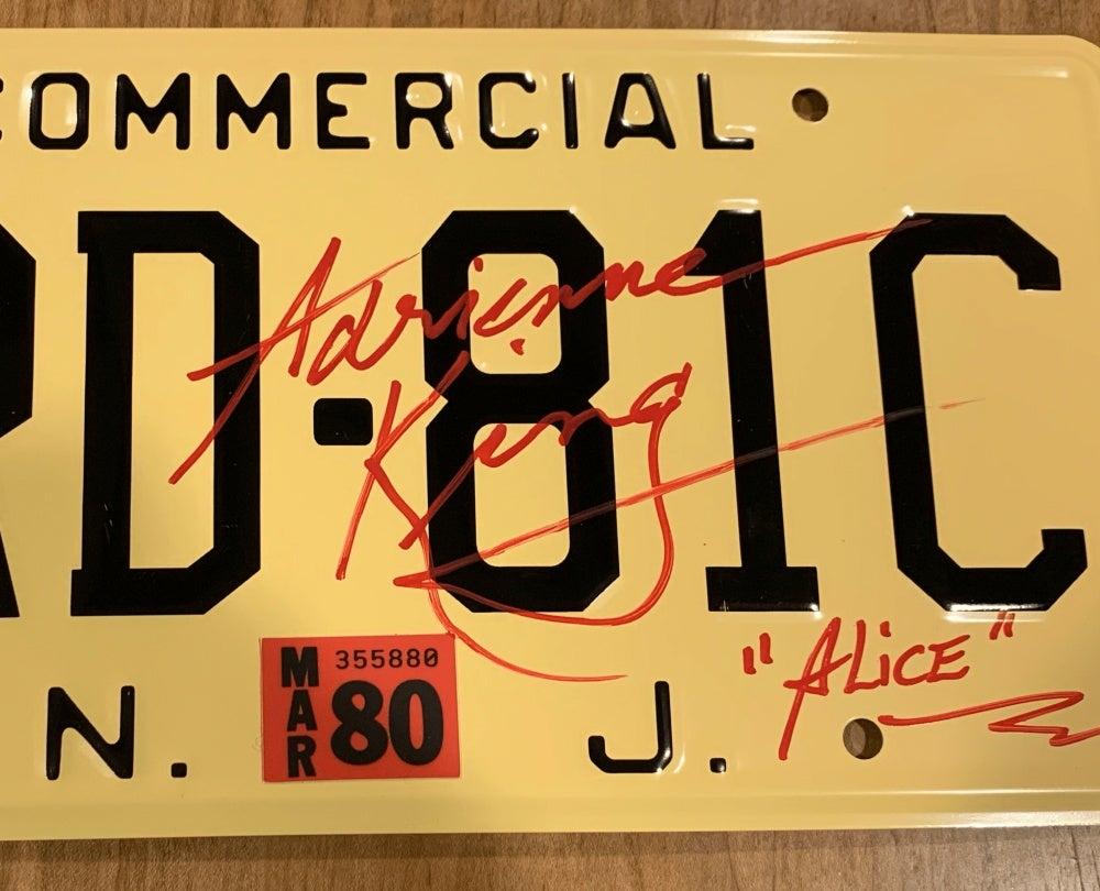 XRD-81C Souvenir License Plate